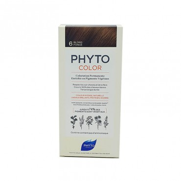 Phyto Color 6 Rubio Oscuro