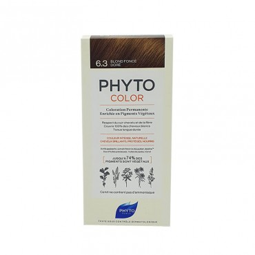 Phyto Color 6.3 Rubio Oscuro Dorado