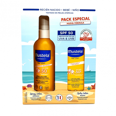 Mustela Pack Solar Spray 50...