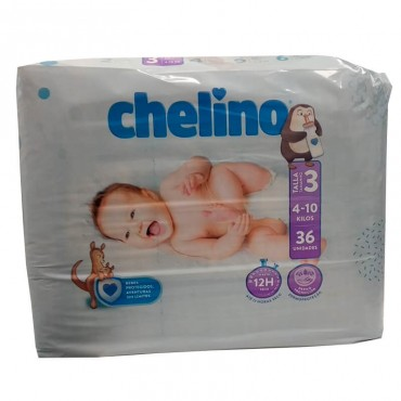 Chelino Diaper Size 3 4-10...