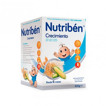 Nutribén growth 600 gr