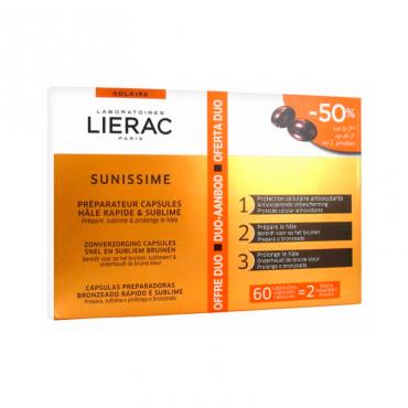 Lierac Sunissime cápsulas de Bronceado Lierac 30 + 30 Cápsulas