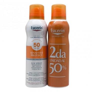 Eucerin duplo sun spray transparent SPF50