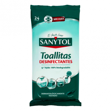 Sanytol Toallitas desinfectantes