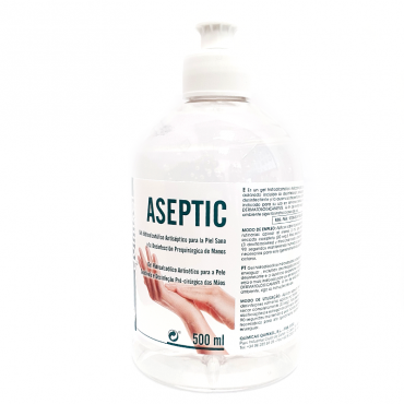 Gel hidroalcoholico Aseptic 500 ml