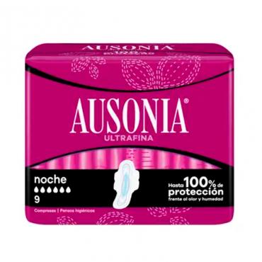 Ausonia Ultrafina Nacht 9 und