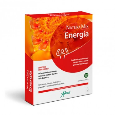 Aboca natura mix advanced energia 10 viales