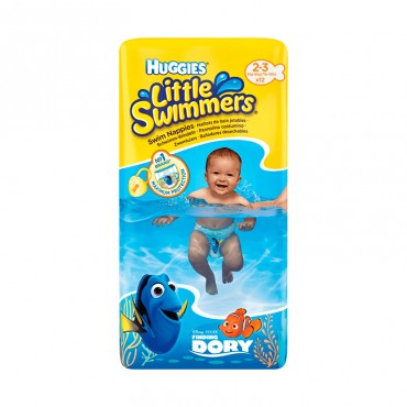Huggies Little Swimmers Talla 2-3, 12 Unidades