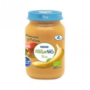 Naturnes Bio Manzana y Platano 190 gr