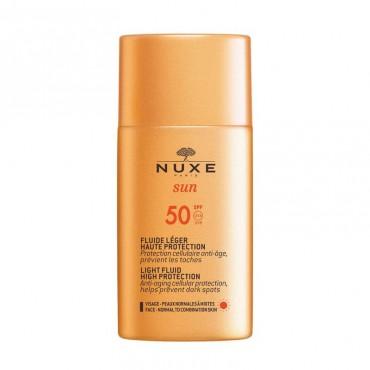 Nuxe sun fluido ligero SPF50 50 ml