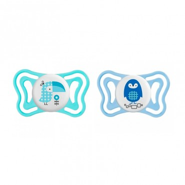 Chicco 2 Chupetes Physio Forma Light 2-6 Meses