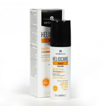 Heliocare 360º Color Gel Oil Free Beige SPF50+