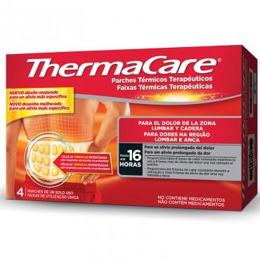 Thermacare Lumbar y Cadera 4 Unidades