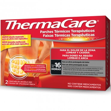 Thermacare Lumbar y Cadera 2 Unidades