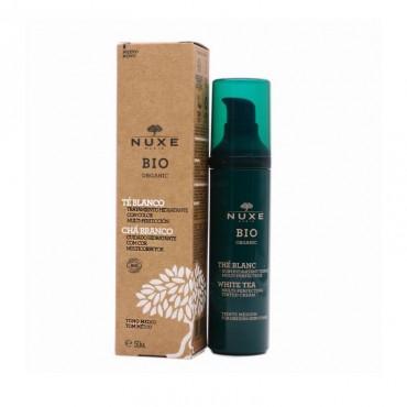 Nuxe Bio Organic Té Blanco Tratamiento Hidratante Con Color 50 Ml.
