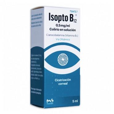 ISOPTO B12 0.5 MG/ML COLIRIO 1 FRASCO SOLUCION 5 ML