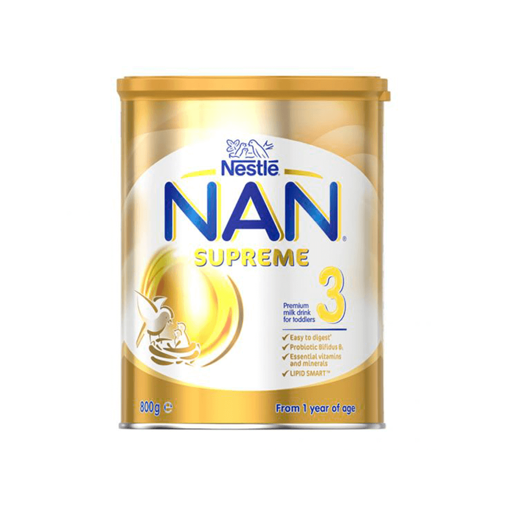 Nestle Nan Supreme 3 Leche Crecimiento 800 Grs