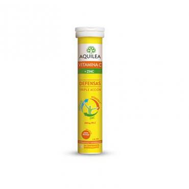 Aquilea Vitamina c + Zinc 14 Comprimidos Efervescentes