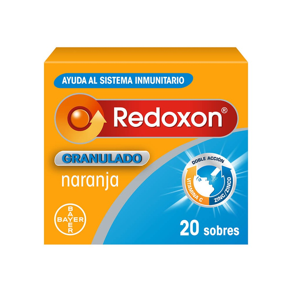 Redoxon Granulado Naranja 20 sobres caja