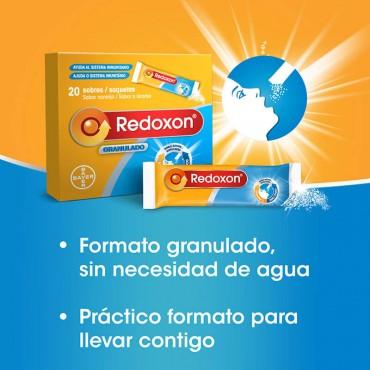 Redoxon Granulado Naranja 20 sobres ventajas