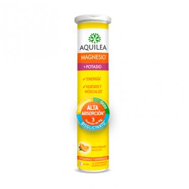 Aquilea Magnesio + Potasio 14 Comprimidos Efervescentes