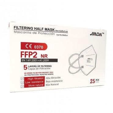 Mascarilla FFP2 NR 5 capas de Filtrado 1 und