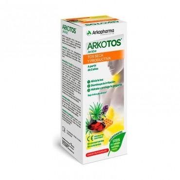 Arkotos Jarabe Tos Seca y Productiva 140 ml