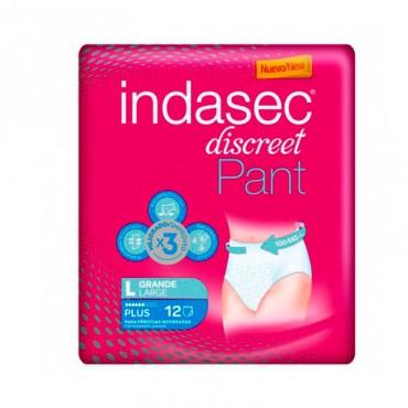 Indasec Pant Plus Absorb Inc Orina Dia Anat T- Gde 12