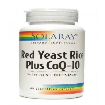 Solaray Levadura Roja De Arroz Y Coq 10 60 Capsulas