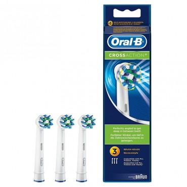 Oral-B Recambios Cepillo Eléctrico Crossaction 3 Unidades