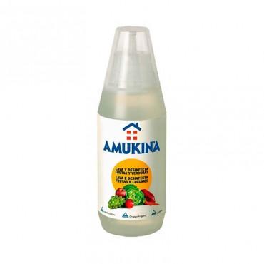 Amukina Desinfección Frutas y Verduras 500 ml
