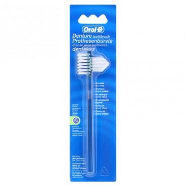 Oral-B Cepillo de Dientes para Dentaduras Postizas y Prótesis