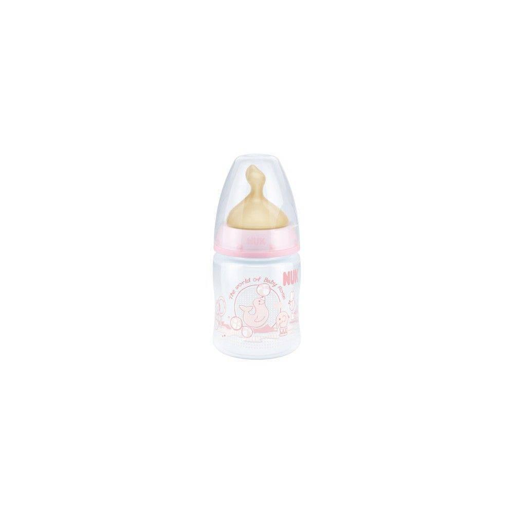 Nuk Biberon First Choice Baby Rose Tm 0 A 6 Meses Latex 150 Ml