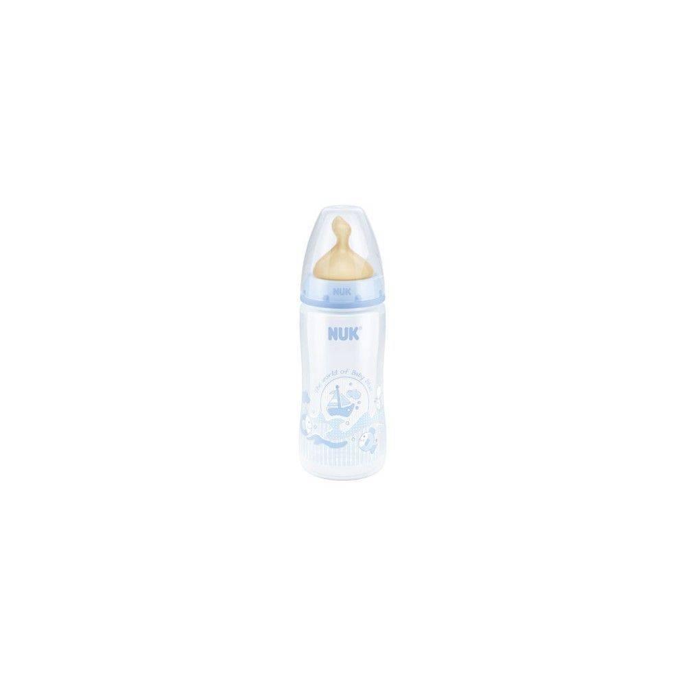 Nuk Biberon First Choice  Baby Blue Tm 0 A 6 Meses 300 Ml