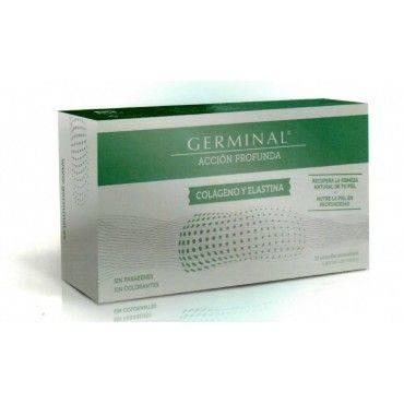 Germinal Accion Profunda Colageno Y Elastina 30 Ampollas