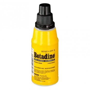 Betadine 100 Mg/Ml Solución Tópica 1 Frasco 125 ml