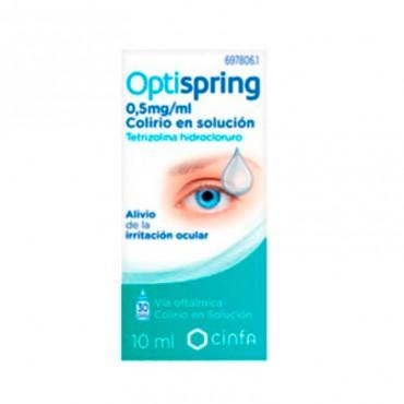 Optispring 0.5 mg/ml colirio 1 frasco solución 1