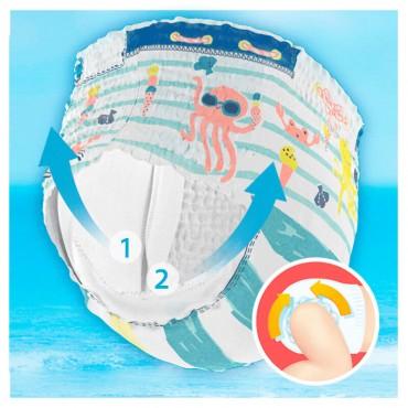 Dodot Splashers Talla 3, 12 Pañales Bañadores Desechables 5