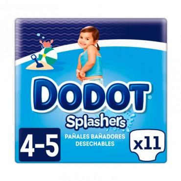 Dodot Splashers Talla 4-5, 11 Pañales, 9-15kg, Bañadores Desechables 9