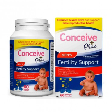 Conceive Plus Fertilidad Hombre 60 Cápsulas Vegetales