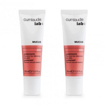 Cumlaude Duplo Mucus Gel lubricante 2x30 ml
