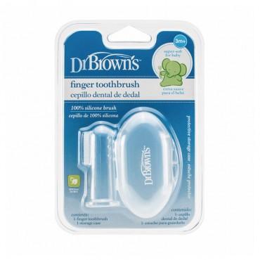 Dr Browns Cepillo Dental De Dedo Silicona