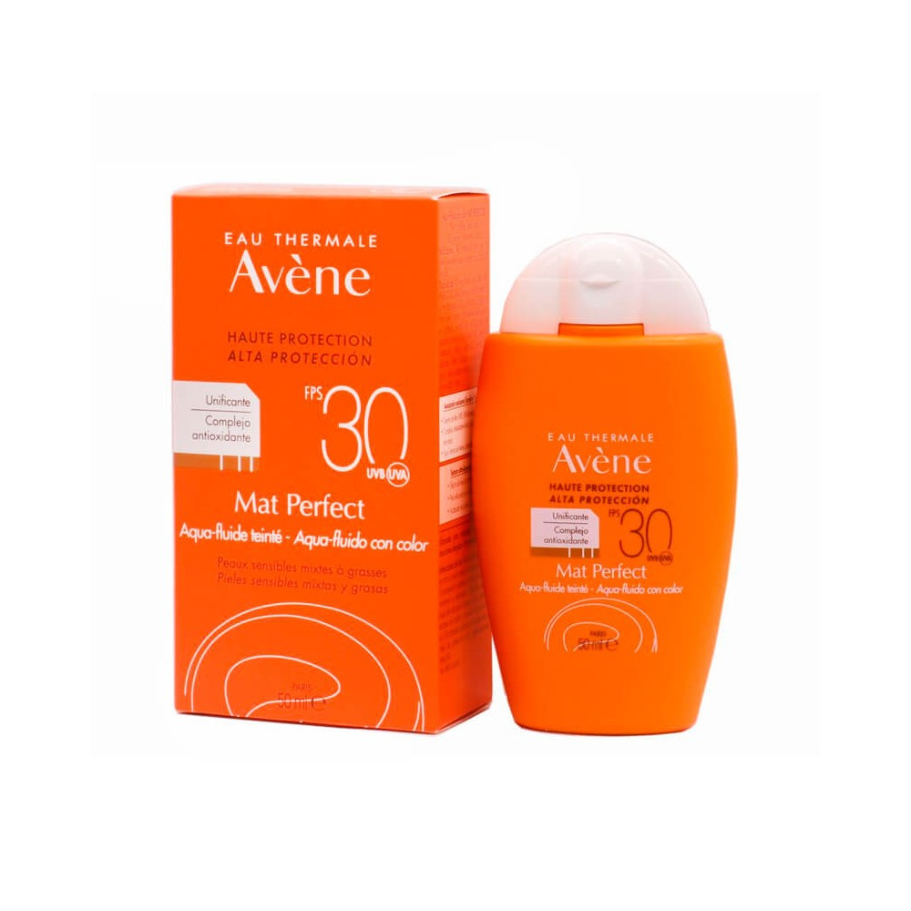 Avène Mat Perfect Fluido Con Color Spf 30+ 50 ml