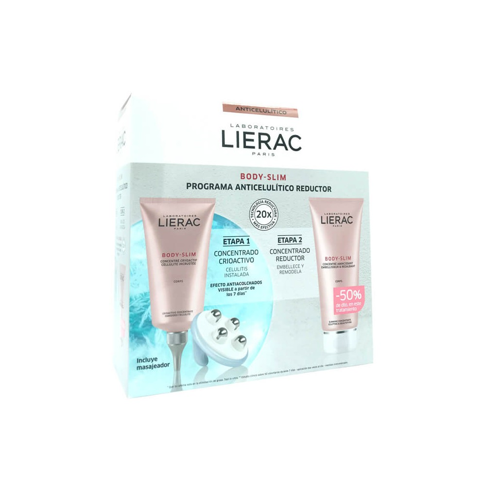 Lierac Pack Body Slim Programa Anticelulitico Reductor