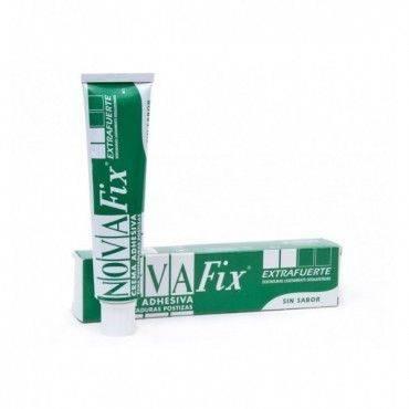 Novafix Extra Fuerte Crema Adhesiva Sin Sabor 45 Gramos.