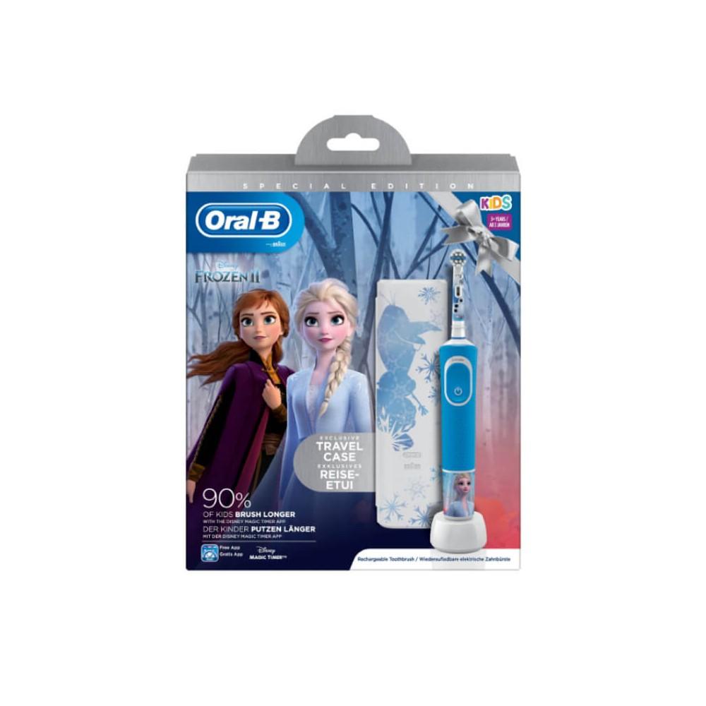 Oral-B Pack Cepillo Eléctrico Frozen + Estuche 9