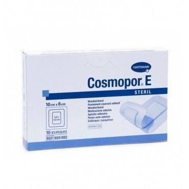 Hartmann Cosmopor Aposito Esteril 10X6Cm 10 Unidades