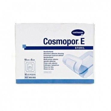 Hartmann Cosmopor Aposito Esteril 10X8Cm 10 Unidades