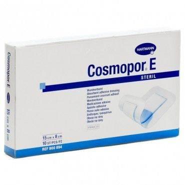 Hartmann Cosmopor Aposito Esteril 15X8 Cm 10 Unidades