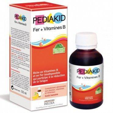 Pediakid Hierro+Vitaminas B Jarabe Infantil 150 Ml
